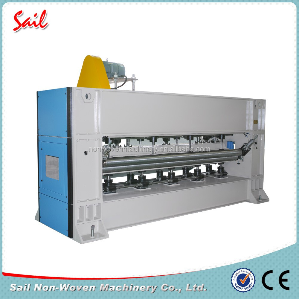 Nonwoven professional polyester fiber needle loom carpet making main need machine