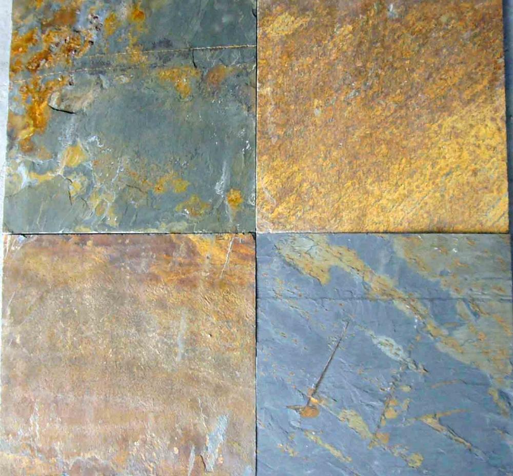 Chinese slate floor tiles