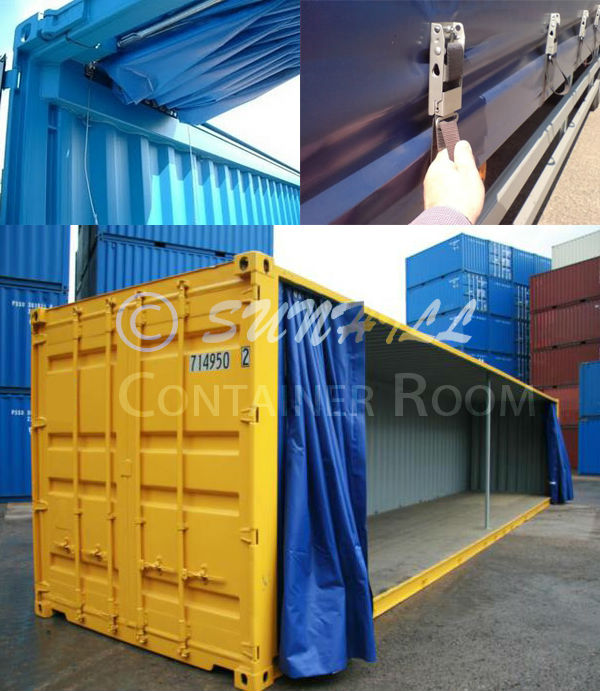 CIMC New/Used 40ft Open Top Container with Perfect Price