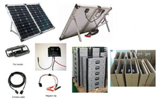 High Quality Portable New Design 120W Folding Solar Panel