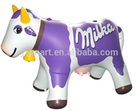 Customized Trial Order Cartoon Advertising Inflatable Cow