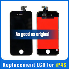 Competitive price LCD for iPhone 4S replacement display screen assembly digitizer
