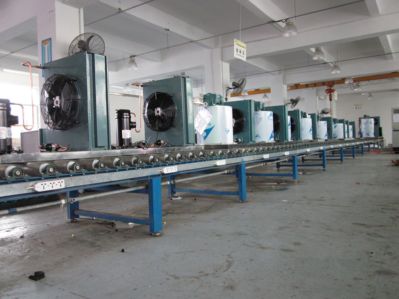 Commercial automatic 8ton slush ice machine flake ice machine