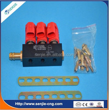 Hot selling single point system with 3cyl injector rail