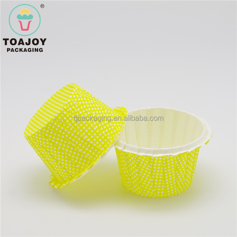 Yellow Medium Size pie pastry decoration tools, ice cream containers, wedding cake boxes