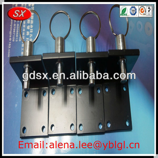 Dongguan factory stainless steel ball lock pins,screw lock pins,custom auto lock pin