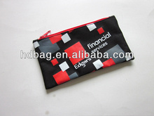 Promotional Silk Screen Printing Customized School Pencil Pouch