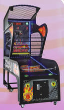 Indoor arcade hoops cabinet basketball game/extreme hoops basketball machine