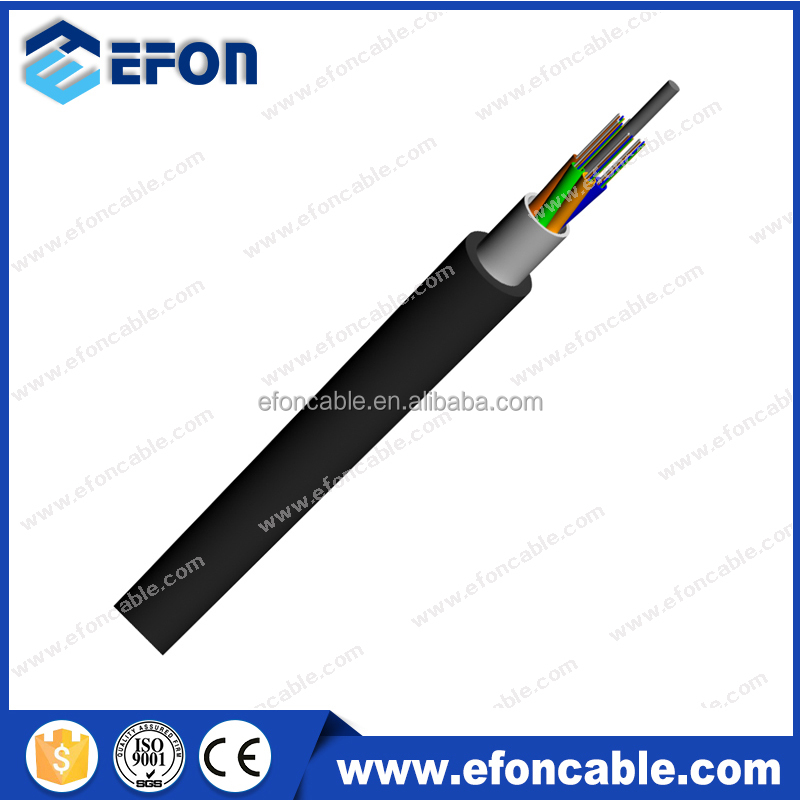 Outdoor Aerial Duct OS1 OS2 GYTA 24 48 72 96 144 288 coring fiber optic cable price
