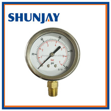 Pressure Gauge with Brass Connection