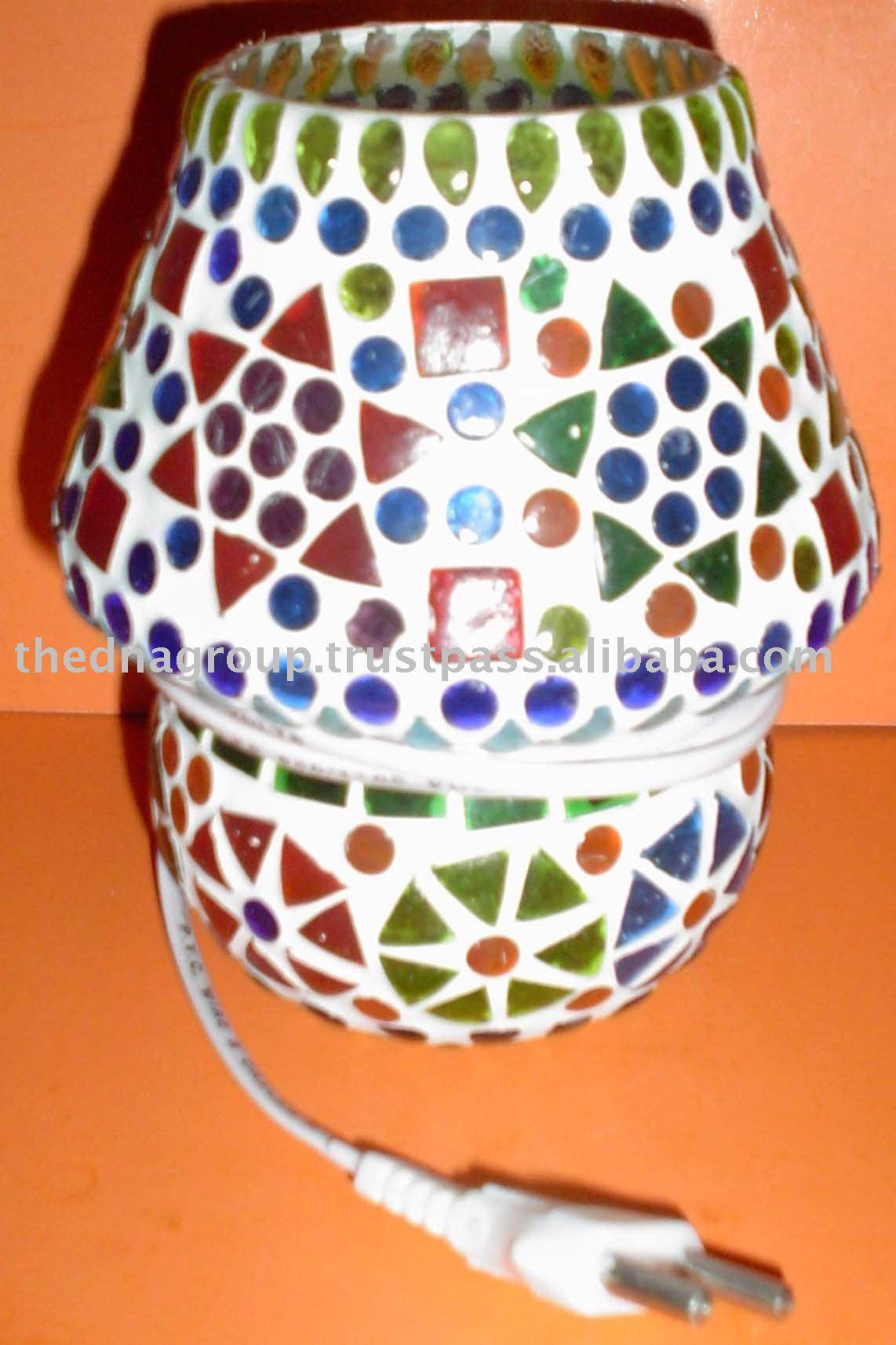 India antigua de cristal l mparas l mparas decorativas - Lamparas de la india ...