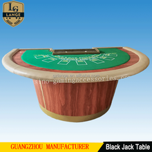 Casino Pro Table Mini Cheap Three Card Blackjack Poker Table For sale