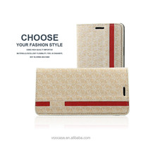 Wallet card-slot pu leather cell mobile phone case pu wallet mobile phone case For iPhone 6/6Plus