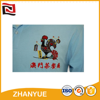 Fashion design Promotion cheap t shirts embroidery patch