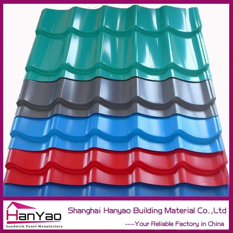 Types Of Stone Coated Metal Roof Tile For Ghana