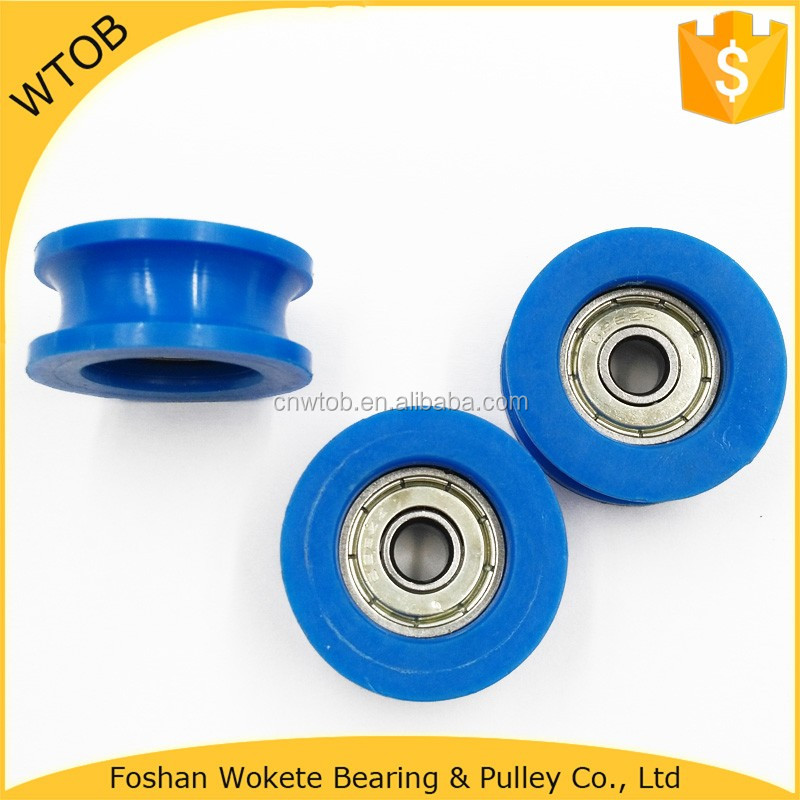 Iron Deep Groove Ball Bearing 626ZZ WithNylon Coating Wheel Pulley
