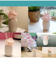 new Home fashionable Aroma Reed Diffuser with Flower Rattan Stick