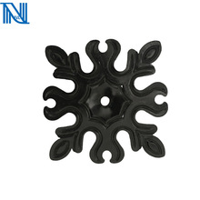 forging iron metal flowers cast iron leaves wrought iron window grill decoration