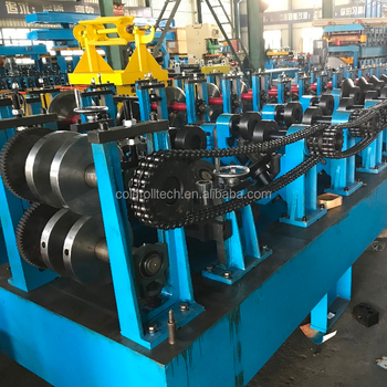 New Model CZ profile changeable C Z Purlin Roll Forming Machine