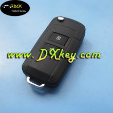 Modified 2 buttons flip key case shell for Toyota remote key shell toyota