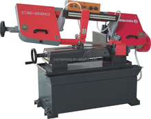 CHENLONG CS-220 angle cut 45 degree band saw machine