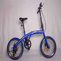 20 inch wheel 6 speeds disc brake lightweight cheap folding bike for sale