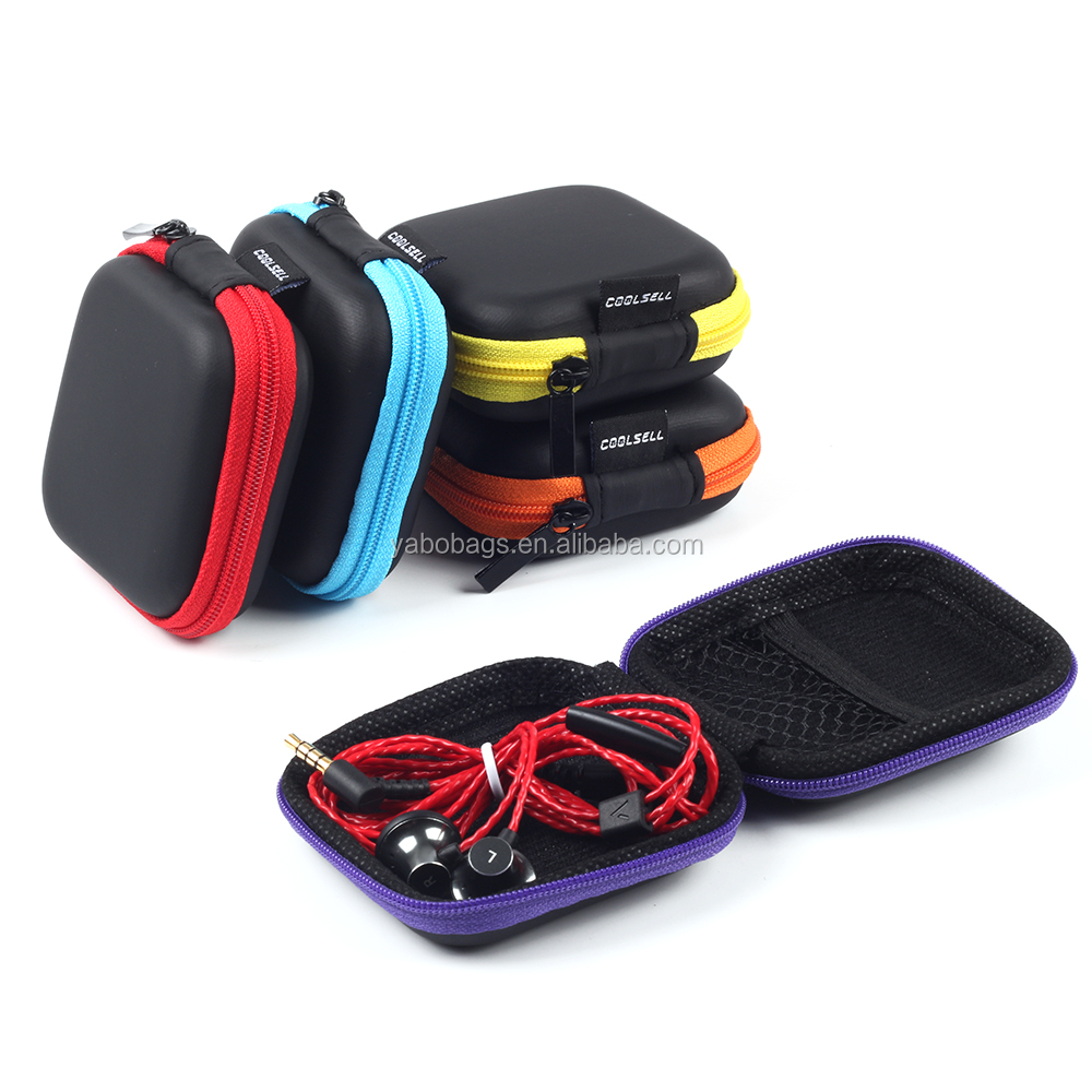 colorful small Eva headphone case eva tool case eva carrying case