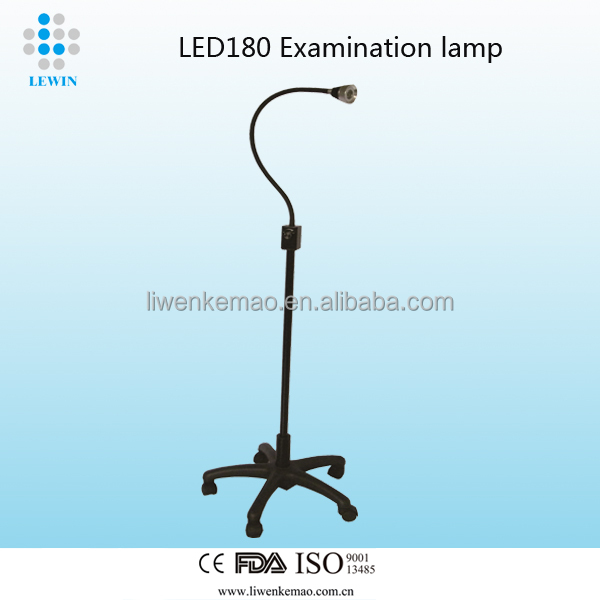 cheapest!!!Mobile standing type LED180Y health & medical examination lamp