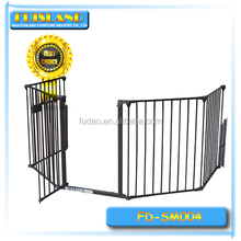 Metal baby safety gate, folding playpen