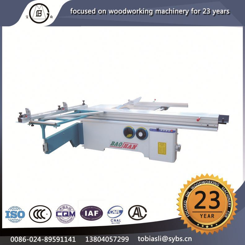 MJ-45Y 2016 wholesale high performance-price ratio plywood electric circular sliding table saw cutting machine panel saw