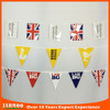 Outdoor United Kingdom rectangle plastic childrens bunting