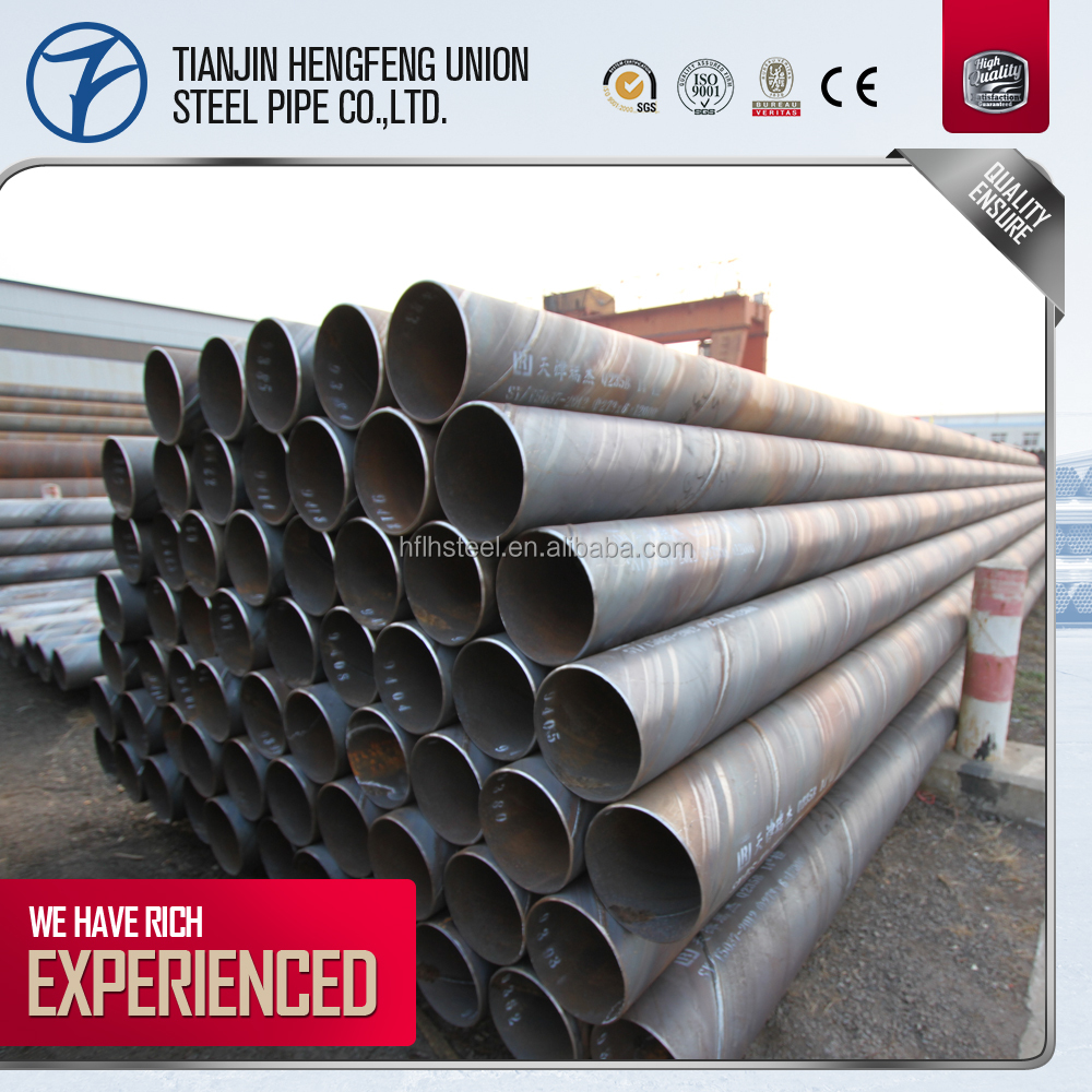 mild oil and gas spiral steel pipe for promotion