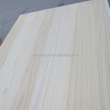 paulownia edge glued panels solid wood board