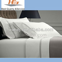 polycotton hotel life collection embroidery bed sheet sets