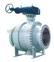 Full Port Trunnion Mounted Carbon Steel Gear Operated Ball Valve
