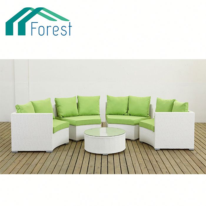 10 Years Experience NEW Arrival rattan effect garden furniture