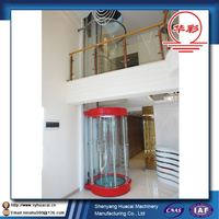 Factory service family use SGS Customized rack and pinion elevator