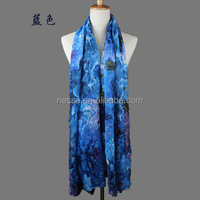 Fashion polyester viscose scarf wholesale W-6