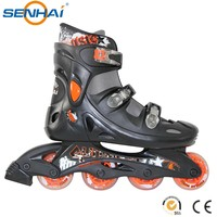 Classical Cougar Inline Skate Professional with Quick Lock Buckles Speed Outdoor Sports Inline Roller Skates Shoes