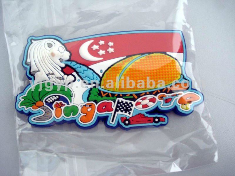 Free sample! Promotional cheap customized rubber Fridge Magnet