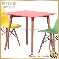 New style Colorful Classic modern wood dining table design