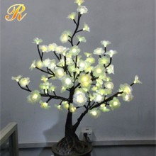 Artificial christmas led flower tree light blossom lights