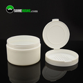 3.3oz / 100g High quality Cosmetic Container PP Plastic Round Flat Loose Powder Sifter Jar with Flip Top Cap