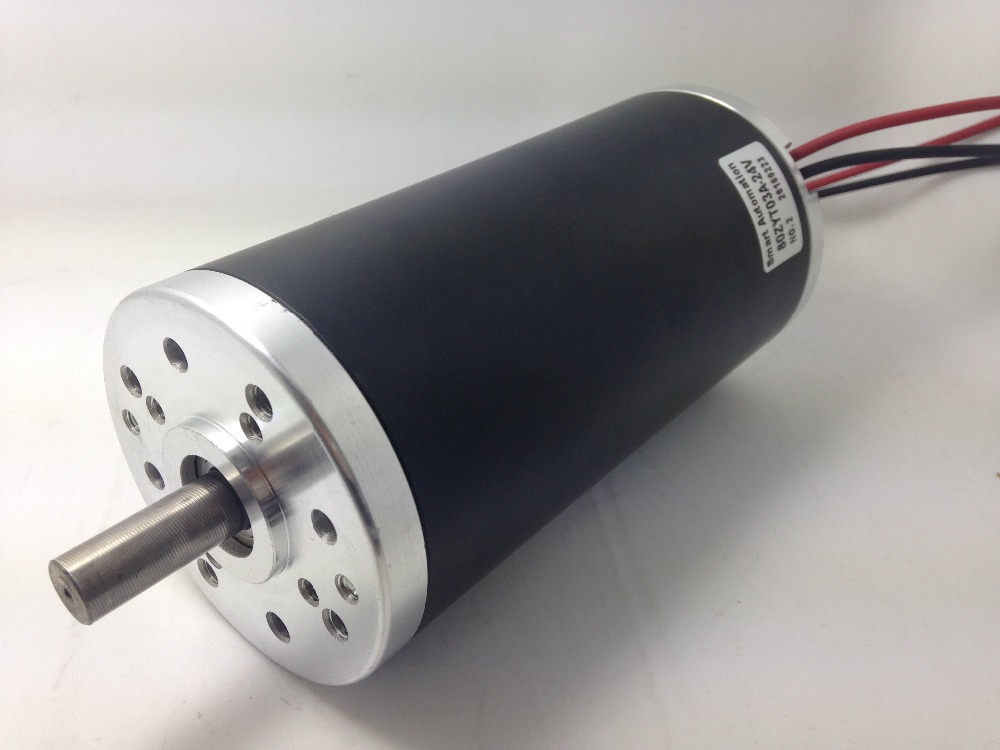 O.D80mm High Torque Dc Motors, 200w 300w 350w upon 3000rpm rating