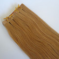 100% remy hair stick double sided tape skin human hair extensions hair extensions