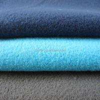 2014 Hot sale cheap 100% polyester brushed sportswear fabric/tricot fabric/velvet fabirc