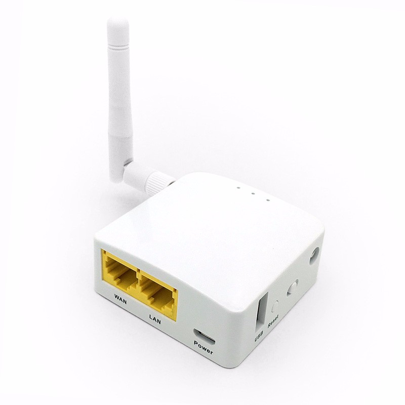 Portable super wifi mini router with antennas ,support DLNA and WAN POE--GL-AR150