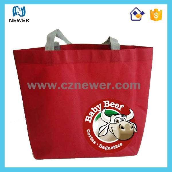 Portable custom fashion stylish novel ball shape non woven bag factory for football