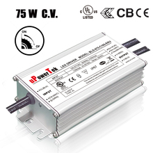 IP67 waterproof 75W 12V dimmable LED transformer driver