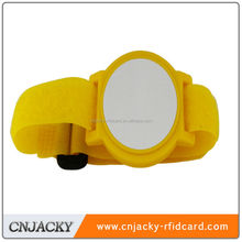 High quality silicon RFID wristband 13.56Mhz wristband WUHAN CNJACKY